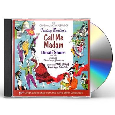 Dinah Shore CALL ME MADAM CD