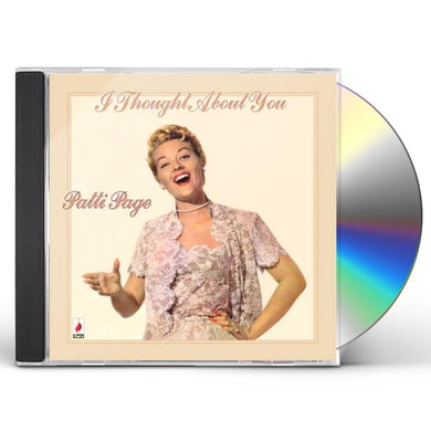 Patti Page I THOUGHT ABOUT YOU CD