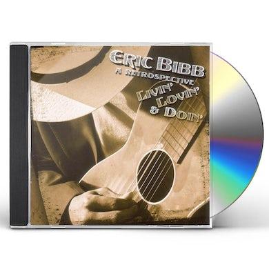 Eric Bibb LIVIN LOVIN & DOIN CD