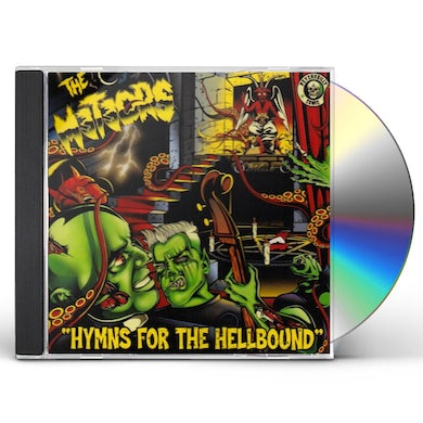The Meteors FUCK THE BOOTLEGGERS 1 & 2 (LIVE) CD