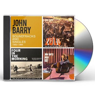 John Barry SOUNDTRACKS AND SINGLES 1963-1966 CD