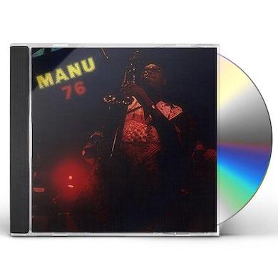 Manu Dibango MANU 76 CD