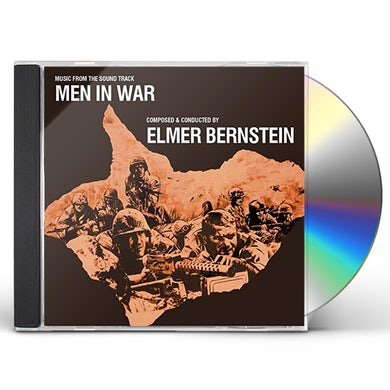 Elmer Bernstein MEN IN WAR - Original Soundtrack CD