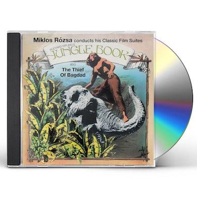 Miklos Rozsa JUNGLE BOOK SUITE / THIEF OF BAGHDAD CD