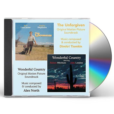 Alex North UNFORGIVEN / WONDERFUL COUNTRY ORIGINAL SOUNTRACKS CD