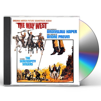 Andre Previn WAY WEST - Original Soundtrack CD
