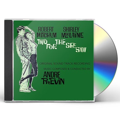 Andre Previn TWO FOR THE SEE SAW - Original Soundtrack CD