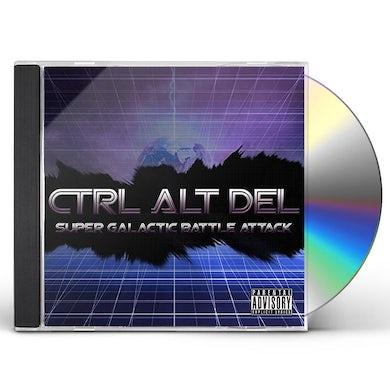 Ctrl Alt Del SUPER GALACTIC BATTLE ATTACK CD
