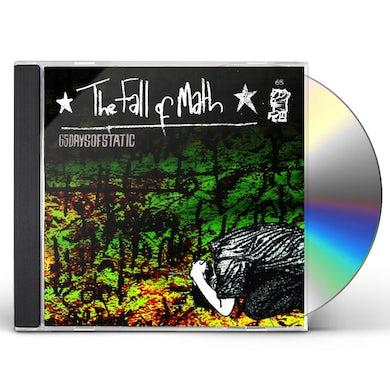 65daysofstatic FALL OF MATH CD