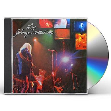 Johnny Winter & LIVE CD