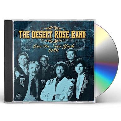 Desert Rose Band LIVE IN NEW YORK 1989 CD