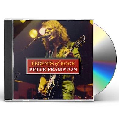 Peter Frampton LEGENDS OF ROCK CD