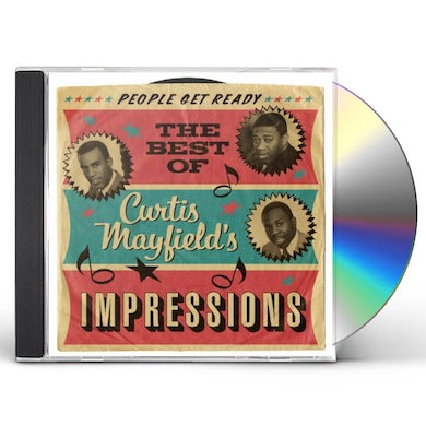 Curtis Mayfield & Impressions PEOPLE GET READY: BEST OF CD