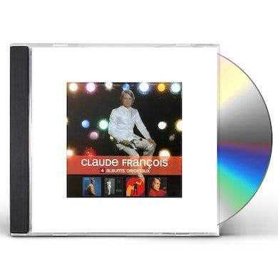 Claude François 4 ORIGINAL ALBUMS CD