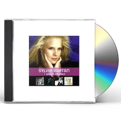 Sylvie Vartan 4 ORIGINAL ALBUMS CD