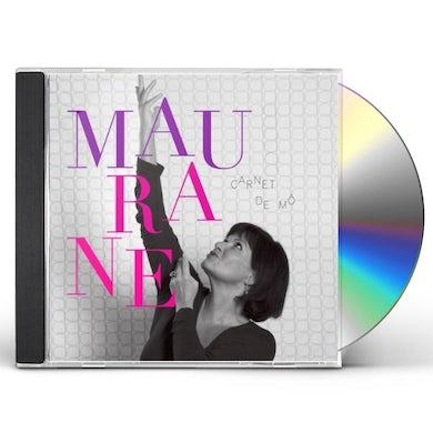 Maurane CARNET DE MO CD