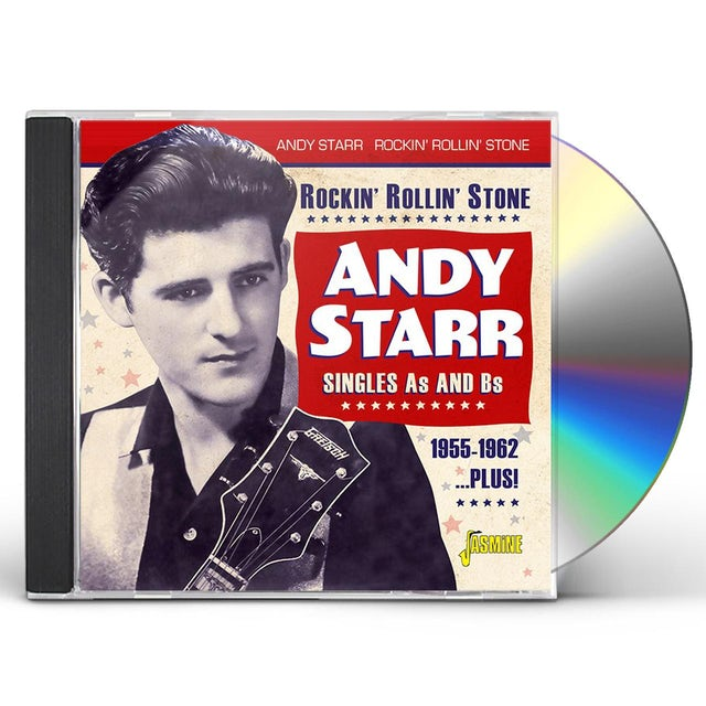 Andy Starr ROCKIN ROLLIN STONE: SINGLES A'S & B'S 1955-1962 CD