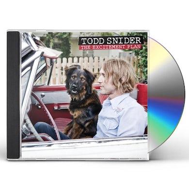 Todd Snider EXCITEMENT PLAN CD