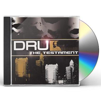 Dru TESTAMENT CD