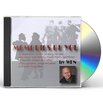 MEMORIES OF YOU BY WEN CD