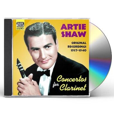 Artie Shaw CONCERTOS FOR CLARINET CD