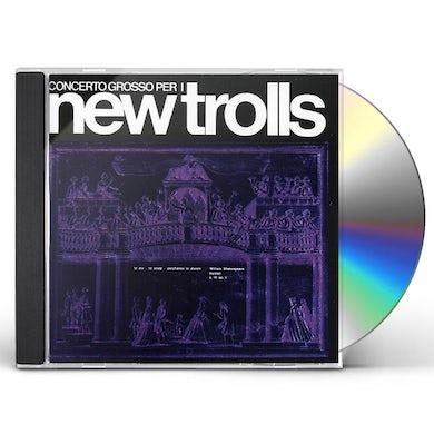New Trolls CONCERTO GROSSO CD