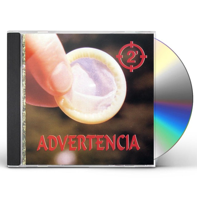 2 Minutos ADVERTENCIA CD