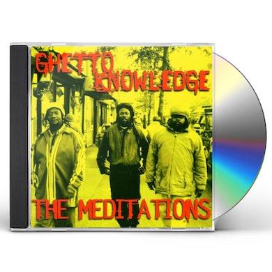 Meditations GHETTO KNOWLEDGE CD