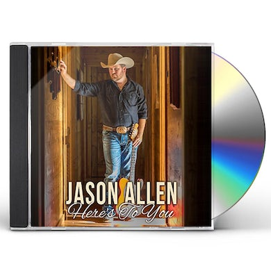 Jason Allen HERE'S TO YOU CD