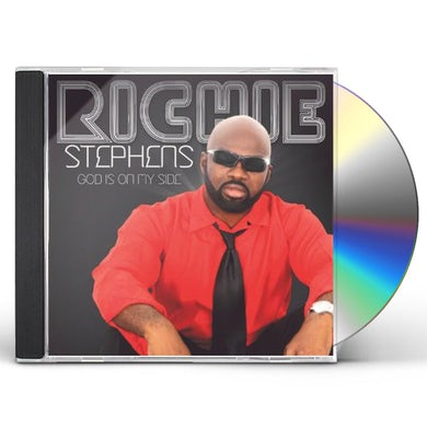 Richie Stephens GOD IS ON MY SIDE CD