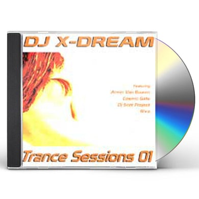 DJ X-Dream TRANCE SESSIONS 01 CD