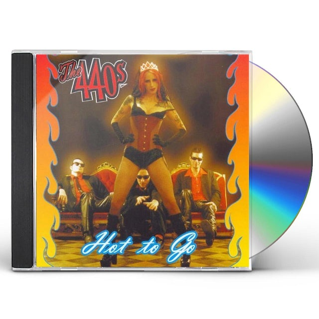 440's HOT TO GO CD