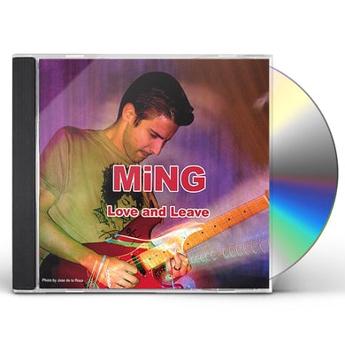 Ming LOVE & LEAVE CD