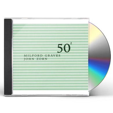 MILFORD GRAVES & JOHN ZORN: 50TH BIRTHDAY 2 CD