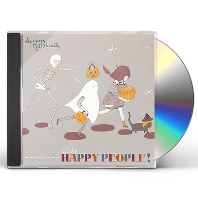 Spencer McGillicutty ALL THE HAPPY PEOPLE CD