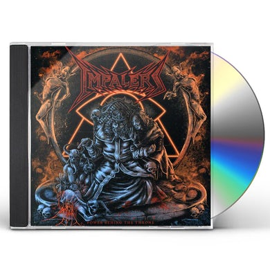IMPALERS POWER BEHIND THE THRONE CD