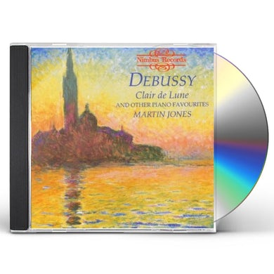 Debussy CLAIRE DE LUNE & OTHER PIANO FAVORITES CD