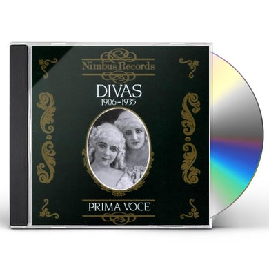 DIVAS 1906-1935 VOL 1 CD