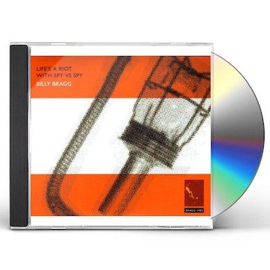 Billy Bragg LIFE'S A RIOT WITH SPY VS SPY CD