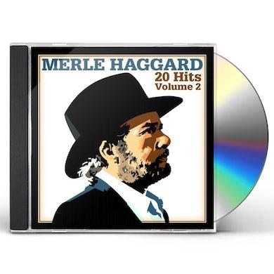 Merle Haggard 20 HITS VOL 2 CD
