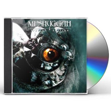 MESHUGGAH I REMASTERED CD