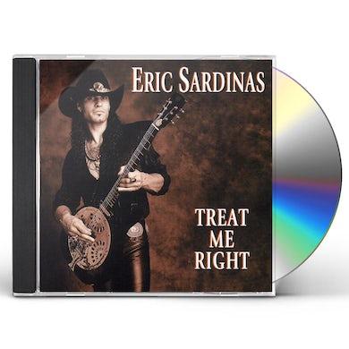 Eric Sardinas TREAT ME RIGHT CD