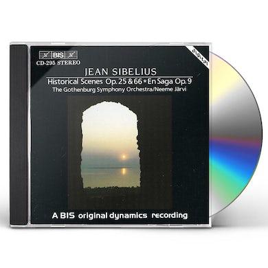 Sibelius HISTORICAL SCENES I & II CD