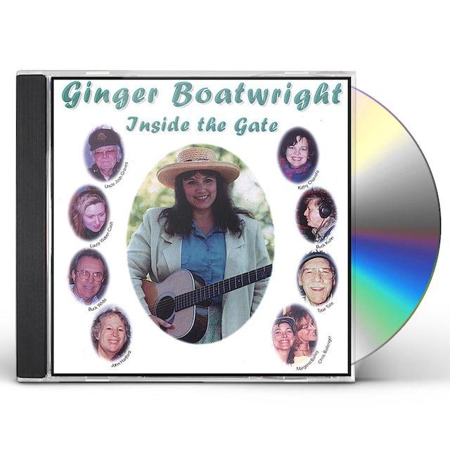 Ginger Boatwright INSIDE THE GATE CD