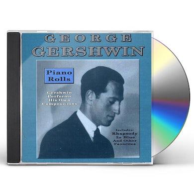 George Gershwin PIANO ROLLS CD