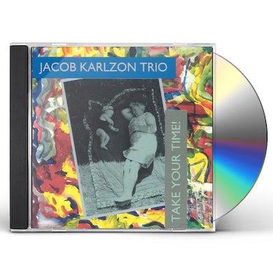 Jacob Karlzon TAKE YOUR TIME CD