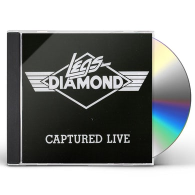 Legs Diamond CAPTURED LIVE CD