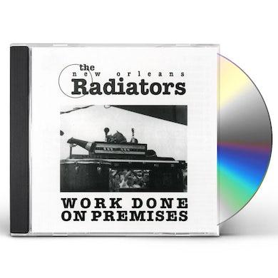 Radiators WORK DONE ON PREMISES CD