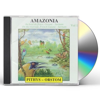 Sounds of Nature V1: AMAZONIE CD