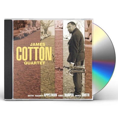 JAMES COTTON QUARTET CD